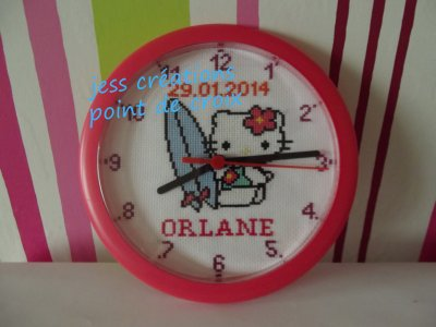 horloge hello kitty