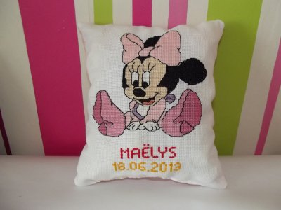 coussin minnie