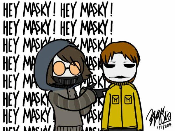 Pauvre Masky !