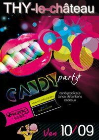 1O/09 Candy party @ Thy le Chateau