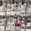 """24/08/2012: Sophia B quittant la boutique Vintage:""""The Way We Wore""""."""