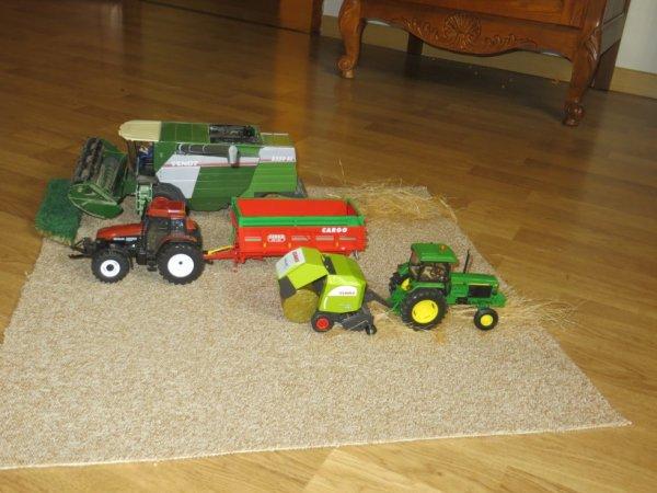 la moisson finis maquette agricole