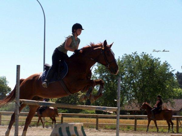 """""""Lance ton coeur par dessus un obstacle, ton cheval le suivra..."""""""