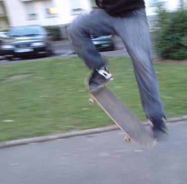 ollie en skate