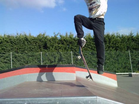 transfer d une rampe de skate