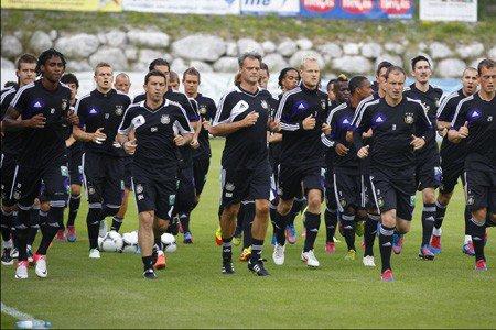 Une sélection de 26 joueurs pour le stage à Saalfelden