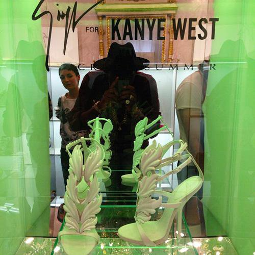 "KANYE WEST ATTENDS CHRISTIAN DIOR SHOW + Kanye West Creates ""Cruel Summer"" Giuseppe Zanotti Shoes"