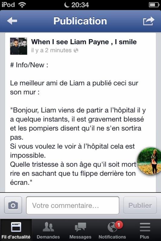 NON PAS TOI, Liam :'(