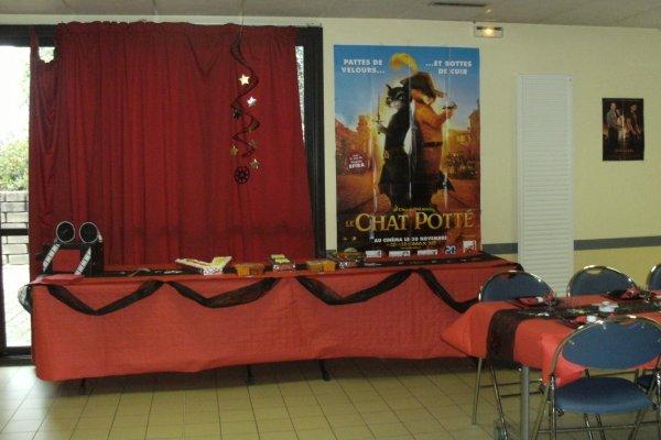 soirée vip theme cinema