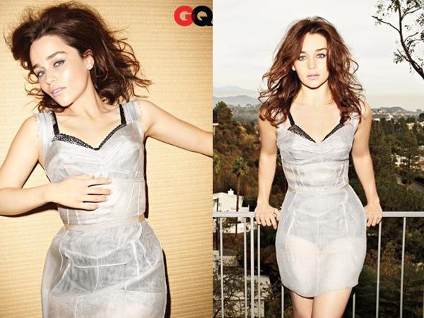 02.04.13 - Emilia a été photographiée à la sortie de sa représentation dans « Breakfast at Tiffany's »