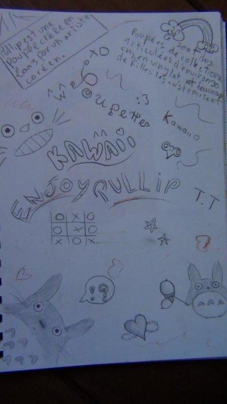 Mes dessins (sans couleurs) suite