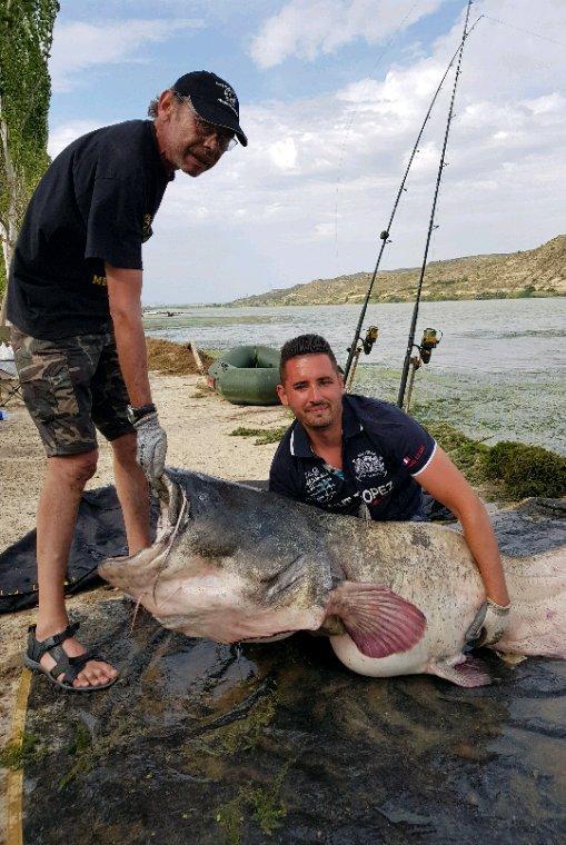 Session de pêche à Mequinenza