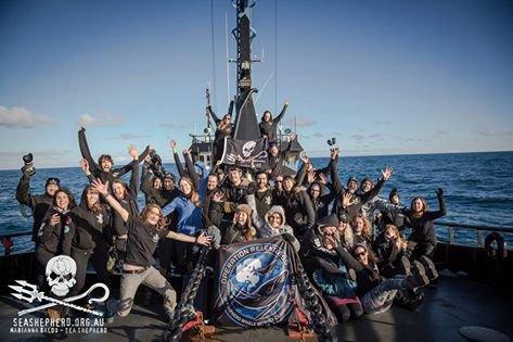 Peut être le début de la fin pour les baleinier japonais !