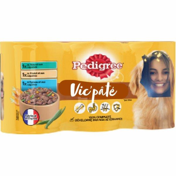 Vic aime aussi le pâté