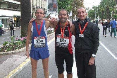 Résultats des championnats de France de marathon Nice-Cannes