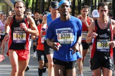 Résultats du marathons de Paris