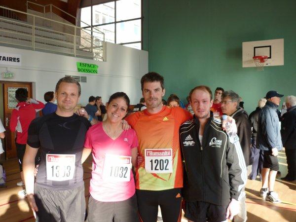 résultat des 10Km de l'humarathon et Semi