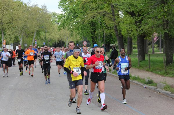 Résultats du marathon de Paris