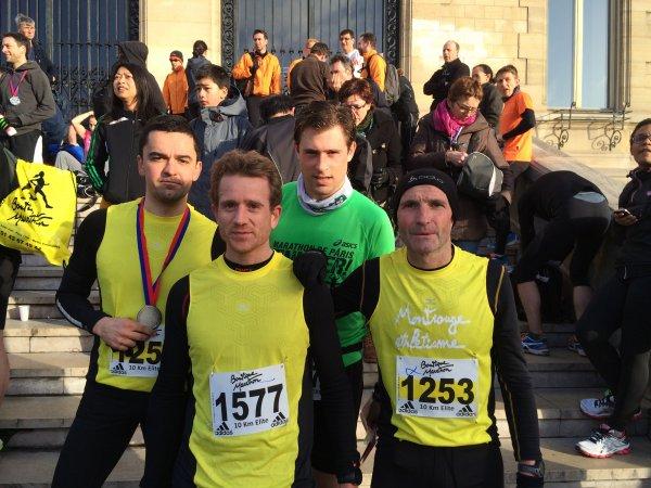 résultat des 10Km de Vincennes
