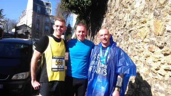 Résultat du semi marathon de Paris