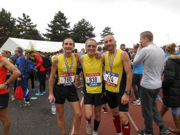 résultats du 5 et 10 Km du championnat de semi marathon à ST Denis