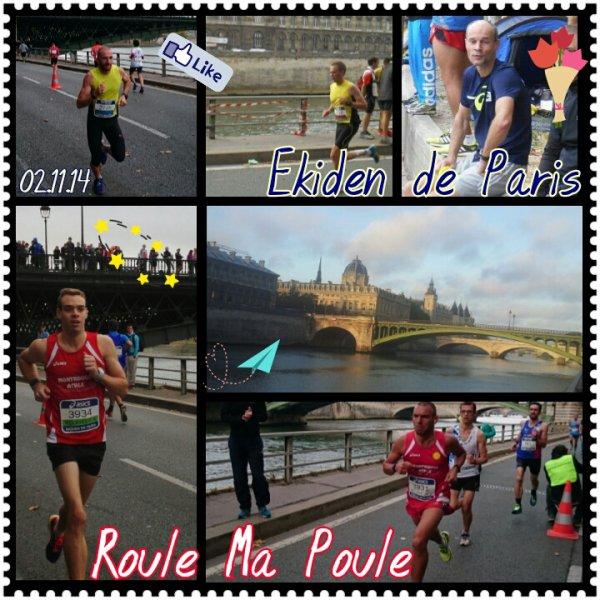Résultat de l'Ekiden de Paris 2014