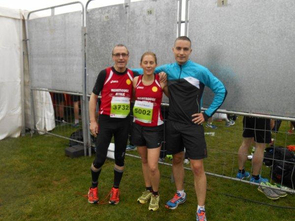 Résultat du 10 Km et Marathon de SENART
