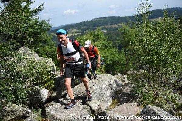 Résultat du trail dans le haut Rhin