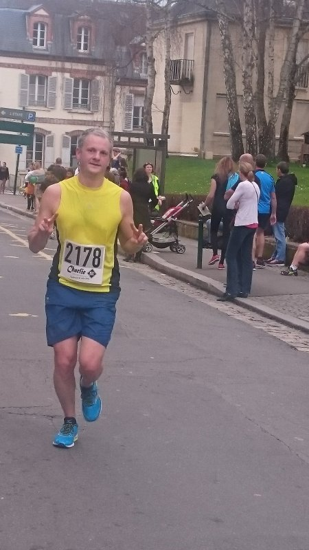 Résultat du semi marathon de Fontainebleau