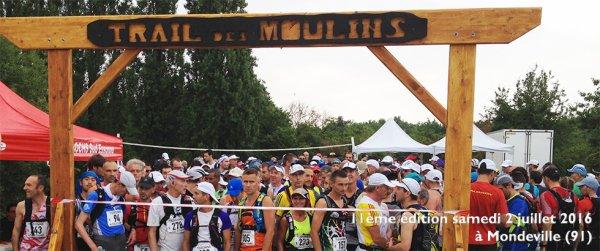 résultat du trail des Moulins à Mondeville