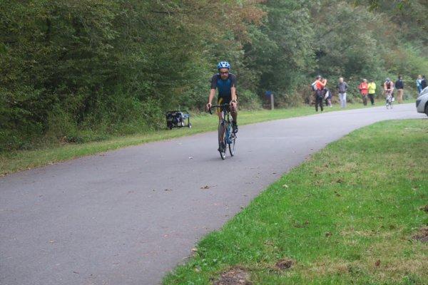Résultat du triathlon sur la base de loisir de Fontainebleau