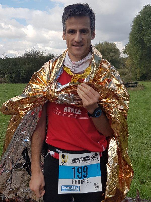 Résultat du marathon de Metz