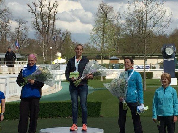 Résultat du marathon de Chantilly