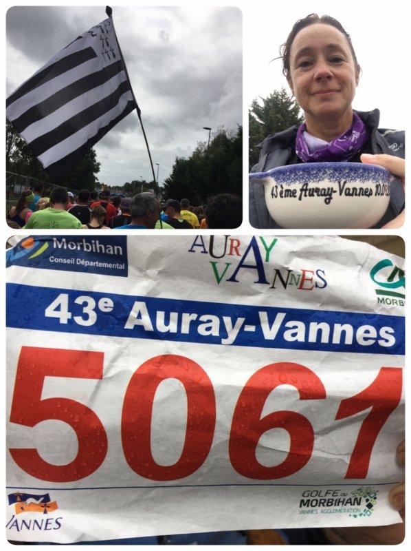 Résultat du semi marathon d'Auray -Vannes