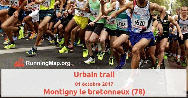 Résultat du trail urbain de Montigny