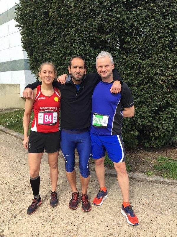 résultat du semi marathon d'Antony