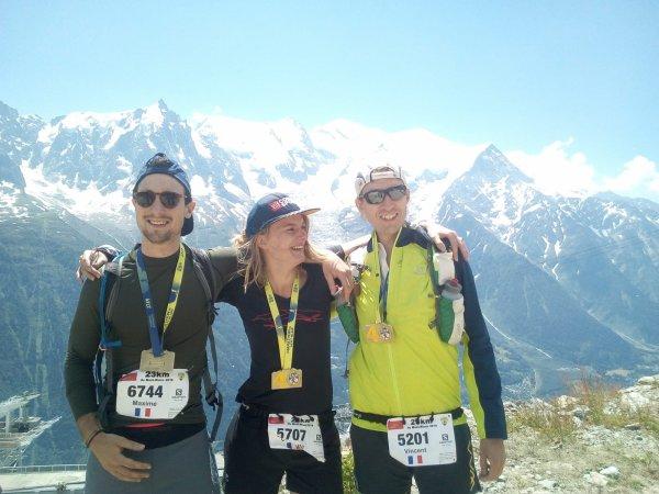 Résultat des 23 km du Mont blanc