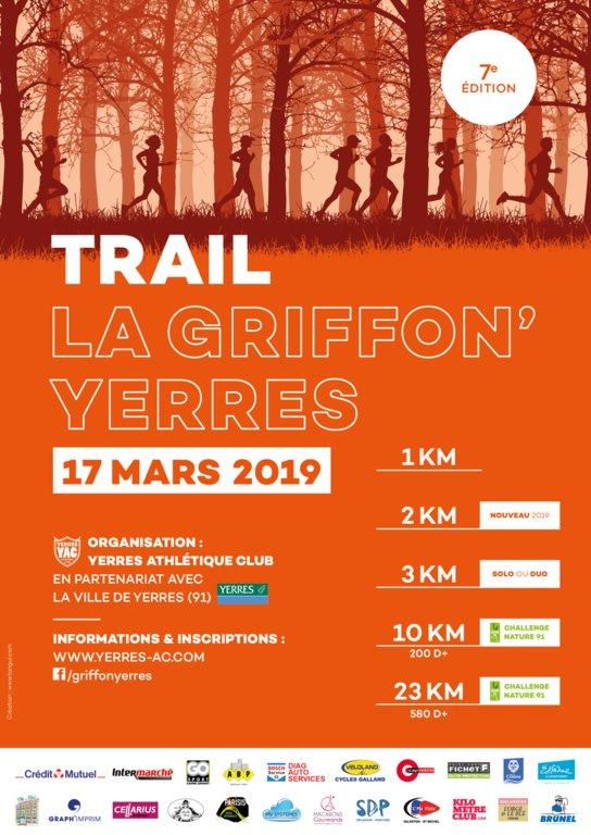 resultat du 10km de Griffon Yerres
