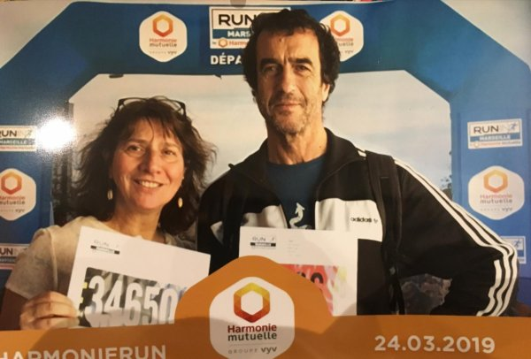 résultat du semi marathon de Marseille Run in
