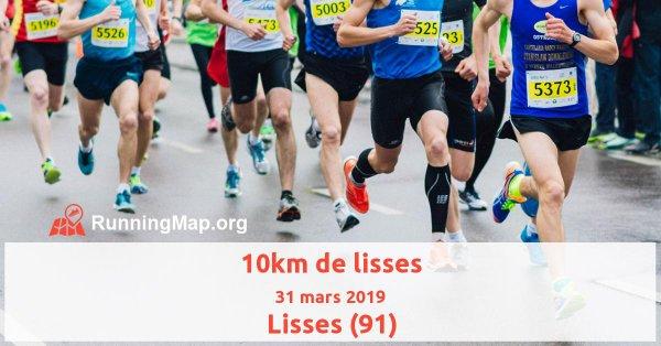 résultat de 10 km de Lisse