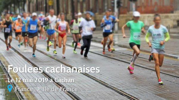 Résultat des foulées de Cachan