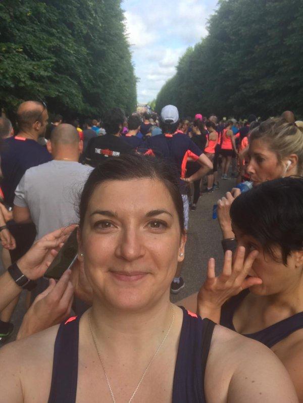 Résultat des 15km de la course royale à Versailles