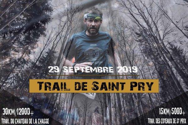 Résultat du trail de Saint Pry
