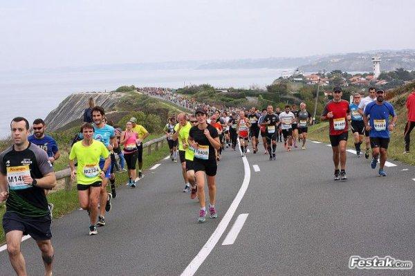 Résultat du semi marathon  de Donibane Fontarrabbie