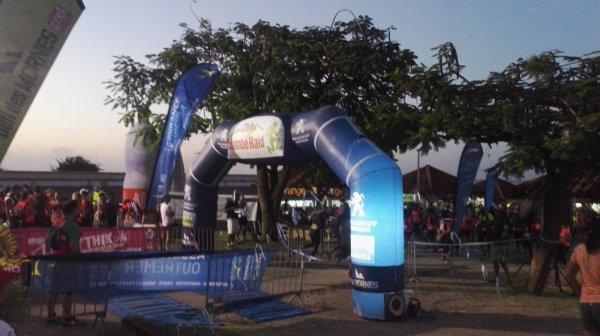 résultat du trail de la Mythik yole een Martinique