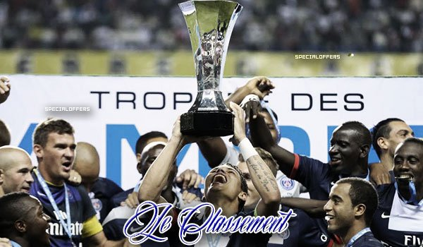 ● Your Best Blog Ligue 1 On Skyrock ●  Classement de la Ligue 1