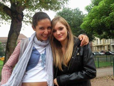 Katia <3 et moi