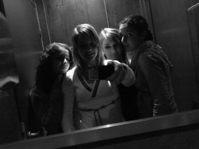 Jade , Mélany , Katia et moi