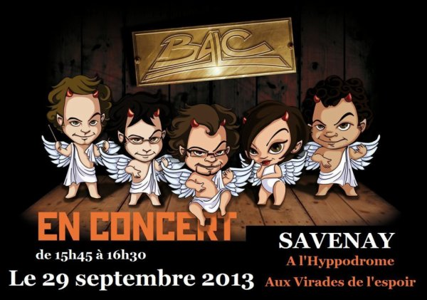 Concert        sept    2013      à    Savenay