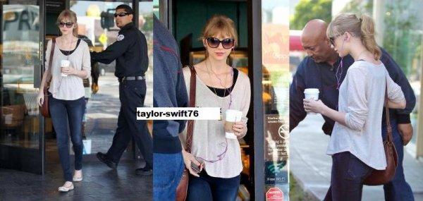 Taylor à Starbucks